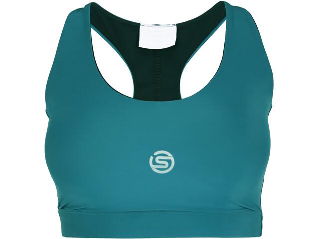 Skins Series-3 Active Bra Women, petrol